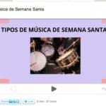 Tipos de música de Semana Santa by @zoraidaperez