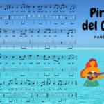 Ukelele. Piratas del Caribe. Partituras y Play Along por @javiamados