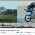 «Imagine» de John Lennon por Flutvideo (en Youtube)