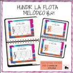 """Juego """"Hundir la flota melódico"""" por @maria.de.musica"""