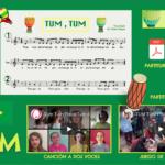 """Wix con la canción """"TUM TUM"""" por Elena Villegas (Comesonidos)"""