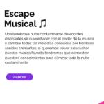 Escape room musical por @irolatics