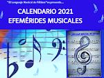 """""""CALENDARIO DE EFEMÉRIDES MUSICALES"""" por @fatimalenmusical"""