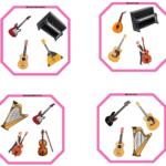 """3 Juegos """"Dobble"""" de Familias de Instrumentos, por @javiamados"""