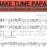 """""""MAKE TUME PAPA"""" por @fatimalenmusical"""