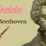 Play Along para Ukelele del 2º movimiento, 7ª Sinfonía (Beethoven). Por @javiamados