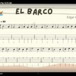 """Ukelele. Play Along """"El Barco"""". Por @javiamados"""