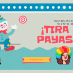 INSTRUMENTOS DE VIENTO MADERA CON ¡TIRO AL PAYASO! por @profeconpasion