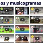 Musicogramas y ritmos usados en 1º de primaria este curso por @jsaez35