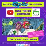 "Taller Vibrató: ""Todo Vibra, todo suena"" el sábado 5 a las 10 en Youtube"