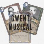"Juego de Cartas ""Gwent Musical""; por: @JoseAAmador"